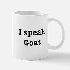 I speak Goat Mug