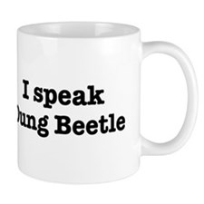 I speak Dung Beetle Mug