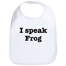 I speak Frog Bib