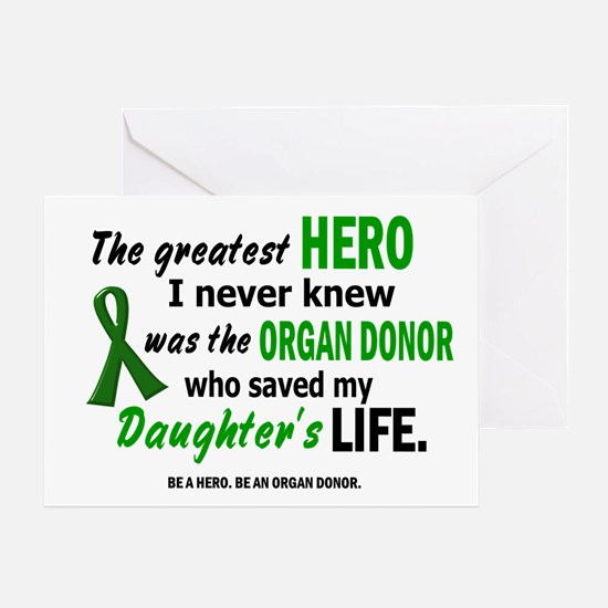 Hero I Never Knew 1 (Daughter) Greeting Card