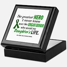 Hero I Never Knew 1 (Daughter) Keepsake Box