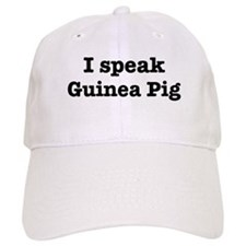 I speak Guinea Pig Baseball Cap