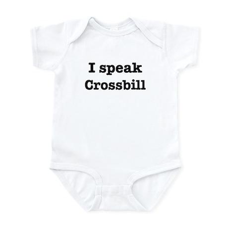I speak Crossbill Infant Bodysuit