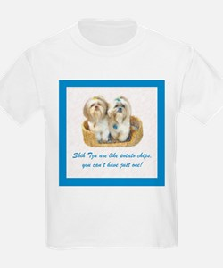 Shih Tzu Pop Art Ziggy & Nemo Kids T-Shirt