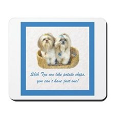 Shih Tzu Pop Art Ziggy & Nemo Mousepad