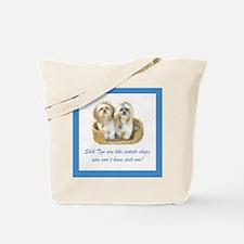 Shih Tzu Pop Art Ziggy & Nemo Tote Bag