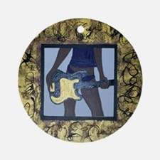 Rock Out by Kenya Verrett Ornament (Round)
