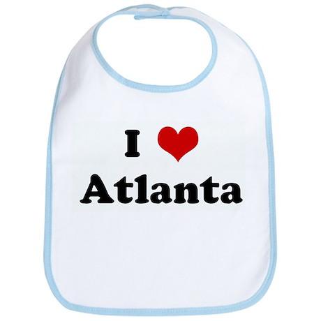 I Love Atlanta Bib