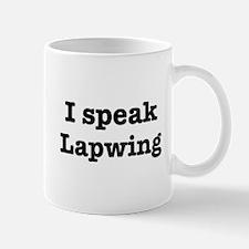I speak Lapwing Mug