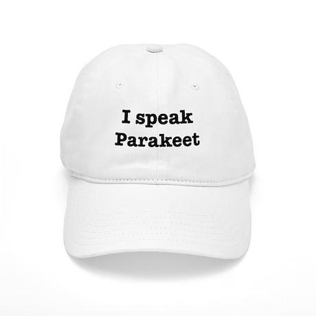 I speak Parakeet Cap