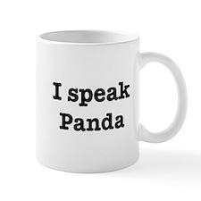 I speak Panda Mug