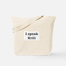 I speak Ladybug Tote Bag