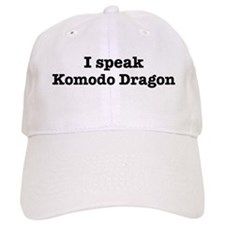 I speak Komodo Dragon Baseball Cap