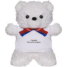 I speak Komodo Dragon Teddy Bear
