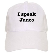 I speak Junco Baseball Cap