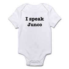 I speak Junco Infant Bodysuit