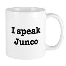 I speak Junco Mug