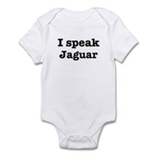 I speak Jaguar Infant Bodysuit