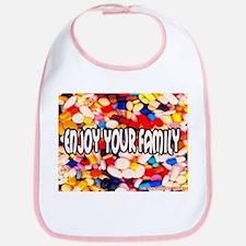 Enjoy Your Family Pills Bib