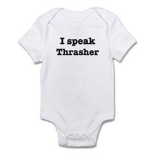 I speak Thrasher Infant Bodysuit