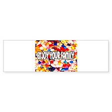 Enjoy Your Family Pills Bumper Bumper Stickers