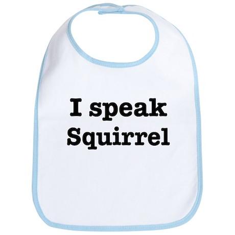 I speak Squirrel Bib