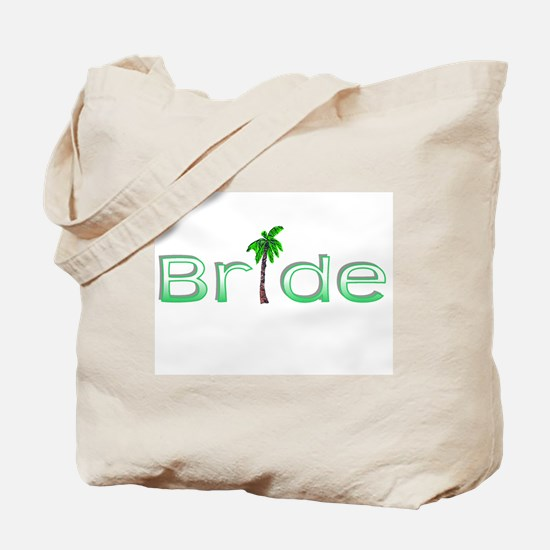 Bride (Palm, Green) Tote Bag