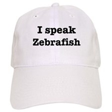I speak Zebrafish Baseball Cap