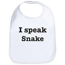 I speak Snake Bib