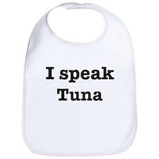 I speak Tuna Bib