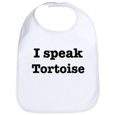 I speak Tortoise Bib