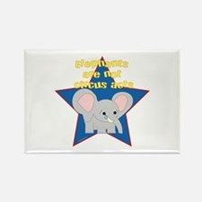 Animals Not Circus Acts Rectangle Magnet