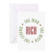 Rich Man Myth Legend Greeting Cards (Pk of 10)