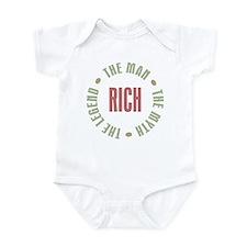 Rich Man Myth Legend Infant Bodysuit