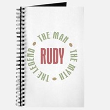 Rudy Man Myth Legend Journal