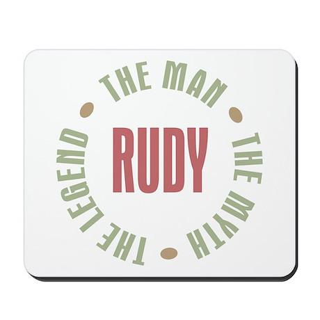 Rudy Man Myth Legend Mousepad