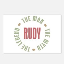 Rudy Man Myth Legend Postcards (Package of 8)