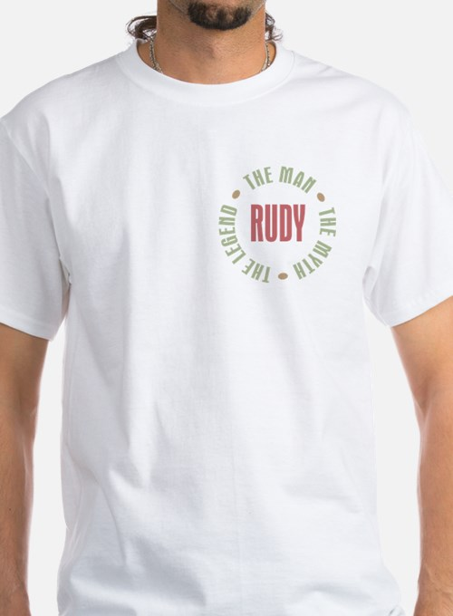 Rudy Man Myth Legend Shirt