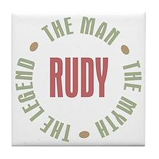 Rudy Man Myth Legend Tile Coaster