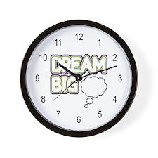 'Dream Big' Wall Clock