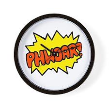 'Phwoar!' Wall Clock