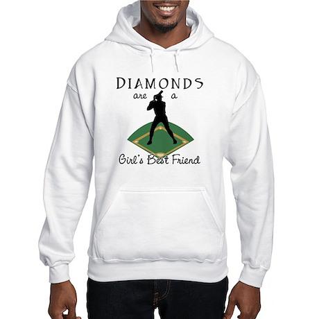 Diamonds - Girl's Best Friend Hooded Sweatshirt
