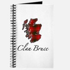 Clan Bruce Map - Journal