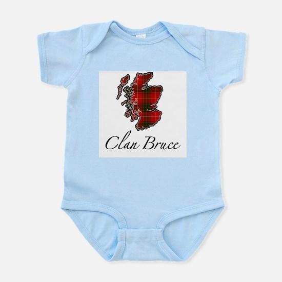 Clan Bruce Map - Infant Bodysuit