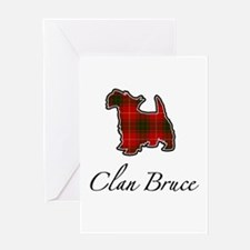 Bruce - Scotty Dog - Greeting Card