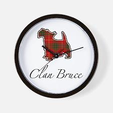 Bruce - Scotty Dog - Wall Clock