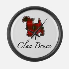 Bruce - Scotty Dog - Large Wall Clock