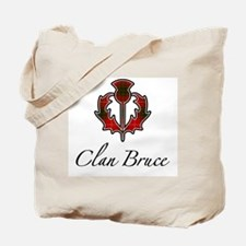Clan Bruce - Thistle Tote Bag