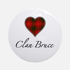 Love Clan Bruce Ornament (Round)