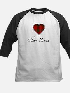Love Clan Bruce Kids Baseball Jersey
